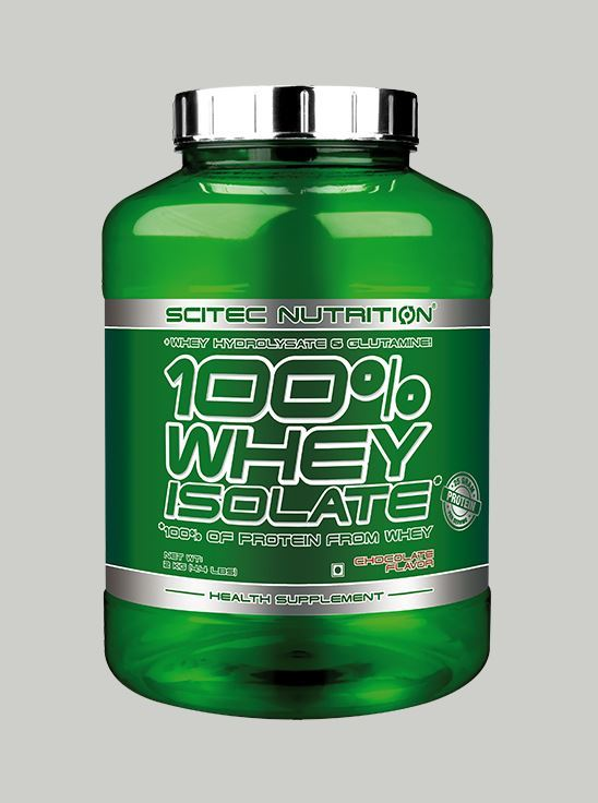 Picture of Scitec 100% Whey Protein Isolate Chocolate 4.4lbs (Short Shelf Life)