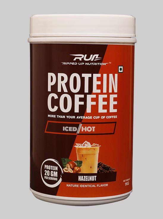 Picture of Ripped Up Nutrition Protein Coffee Hazelnut 1kg