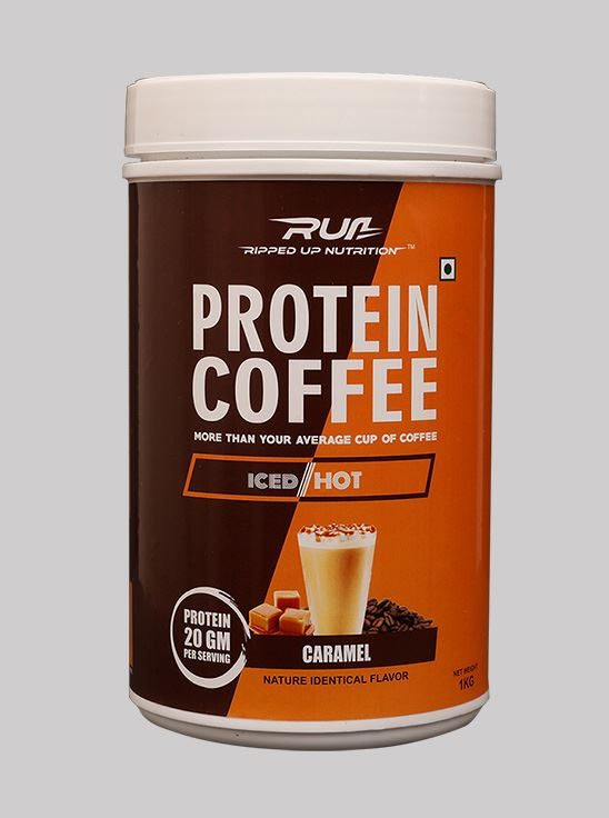 Picture of Ripped Up Nutrition Protein Coffee Caramel 1kg