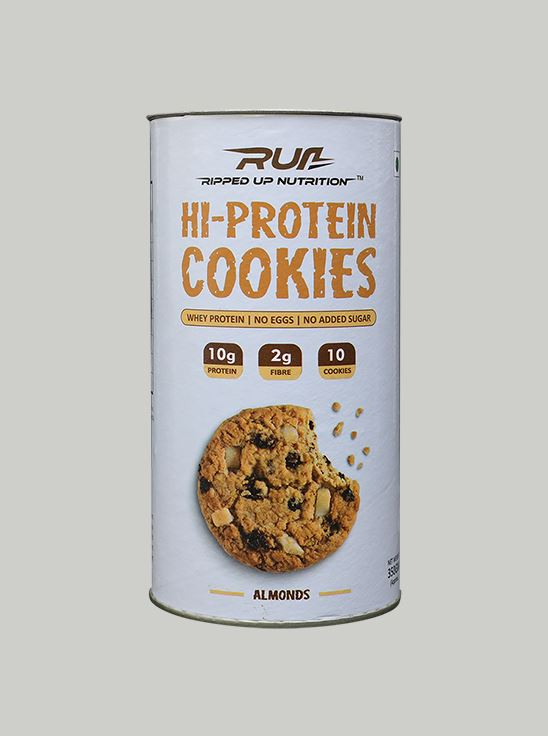 Picture of Ripped Up Nutrition Protein Cookies Almonds (Pack of 10)