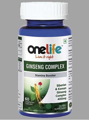 Picture of Onelife Ginseng Complex for Stamina 60 Tablets