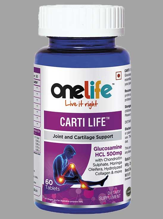 Picture of Onelife Carti Life for Joint and Cartilage Support 60 Tablets