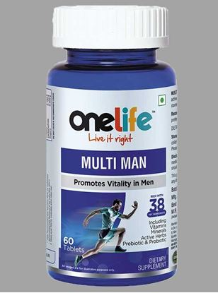Picture of Onelife MULTI MAN Multivitamin For Men 60 Tablets