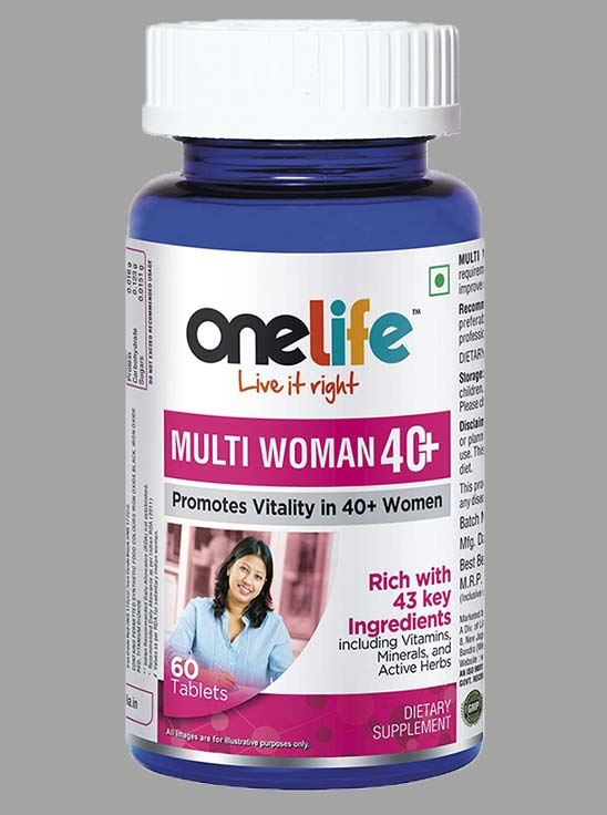 Picture of Onelife MULTIWOMEN 40+ Multivitamins For 40+ Women 60 Tablets