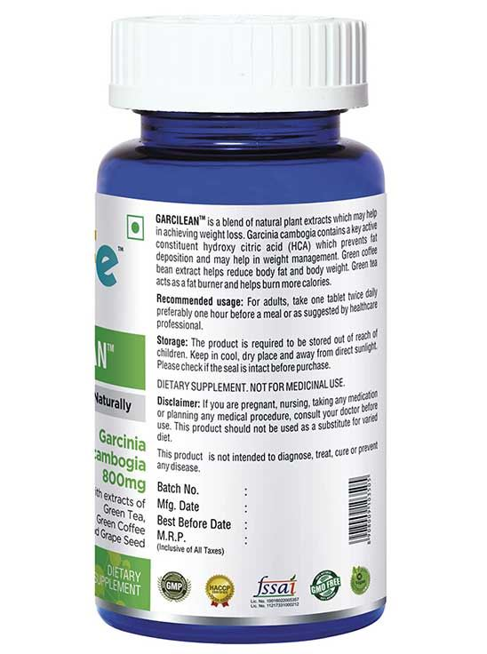 Picture of Onelife Garcilean Promotes Weight Loss Naturally 60 Tablets