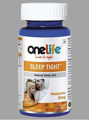 Picture of Onelife Sleep Tight Natural Sleeping Aid Melatonin 5mg