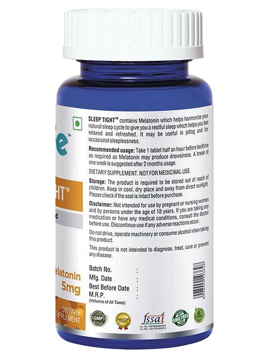 Picture of Onelife Sleep Tight Natural Sleeping Aid Melatonin 5mg