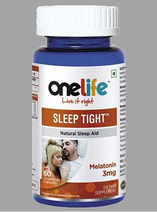 Picture of Onelife Sleep Tight Natural Sleeping Aid Melatonin 3mg
