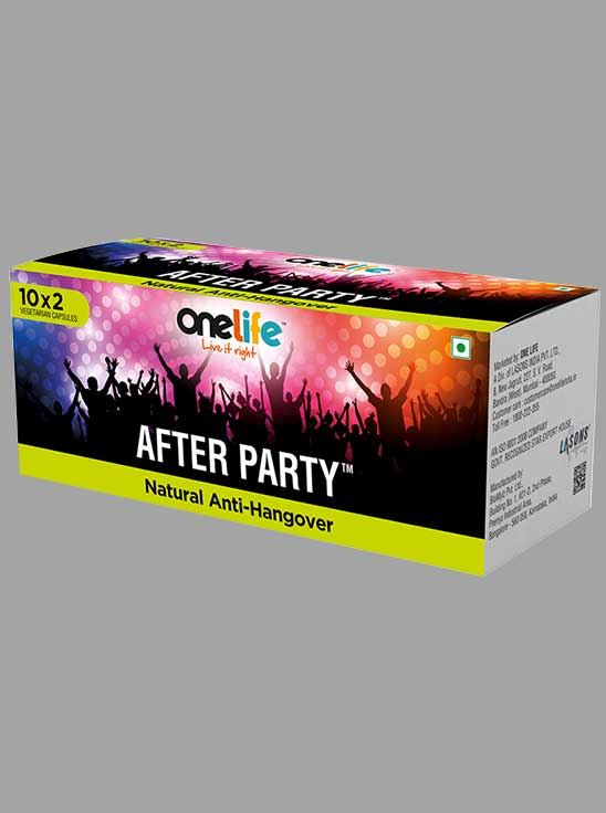 Picture of Onelife AFTER PARTY Natural Anti-Hangover 20 capsuls