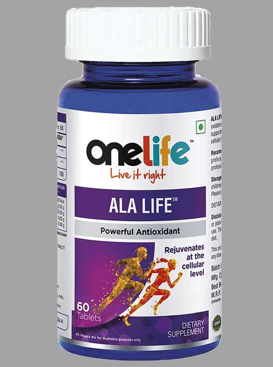 Picture of Onelife Ala Life Alpha Lipoic Acid 60 Tablets