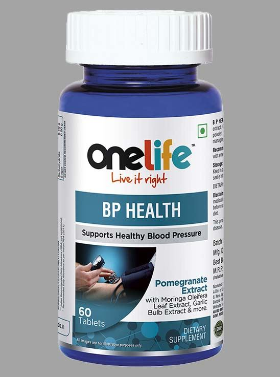 Picture of Onelife BP Health Controls Blood Pressure 60 Tablets