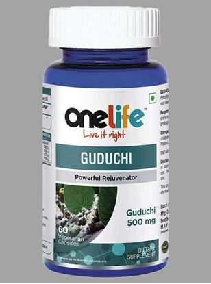 Picture of Onelife Guduchi Powerfull Rejuvenator 60 Tablets