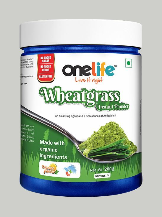Picture of Onelife Wheatgrass Instant Powder for daily health 200g