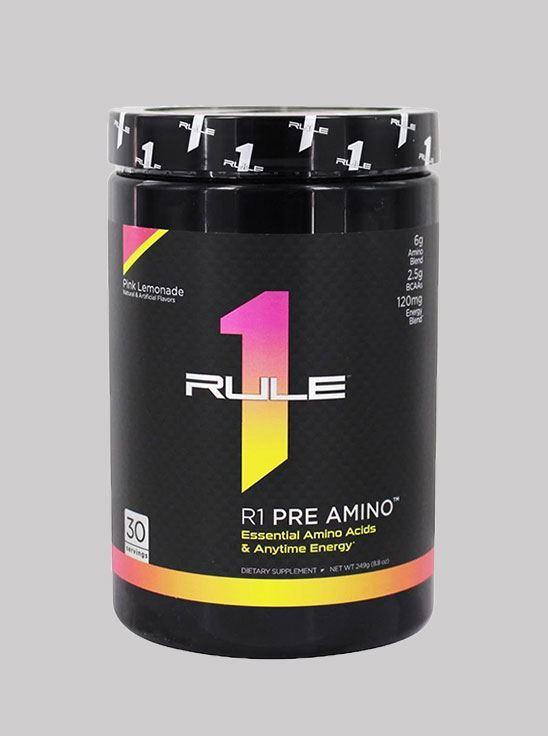 Picture of Rule1 Pre-Amino Pink Lemonade 30 servings