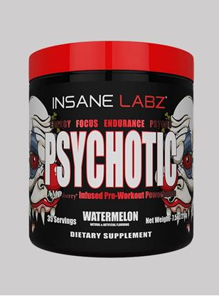 Picture of Insane Labz Psychotic Watermelon 35 servings 214gm