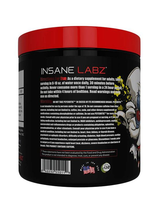 Picture of Insane Labz Psychotic Gummy Candy 35 servings 217gm