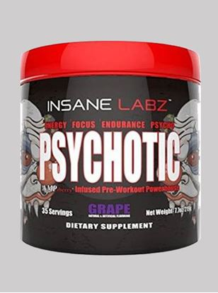 Picture of Insane Labz Psychotic Grape 35 servings 219gm