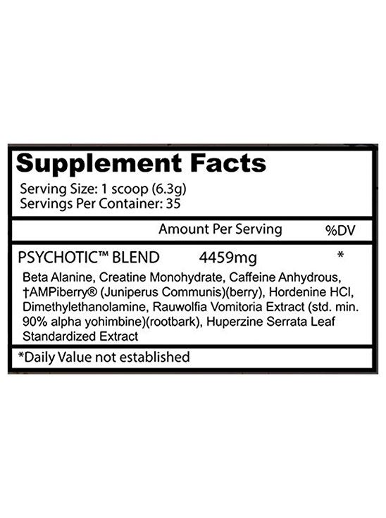 Picture of Insane Labz Psychotic Apple 35 servings 220gm