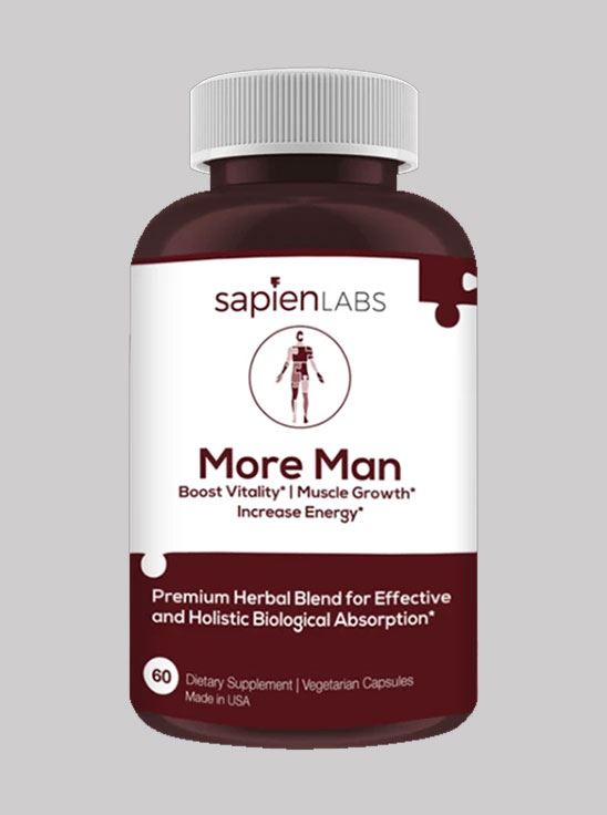Picture of Sapien Body More Man 60 Capsules