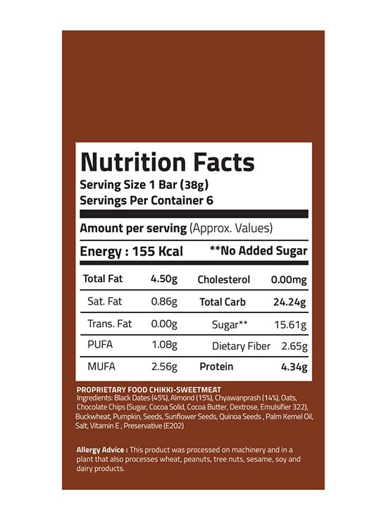 Picture of EAT Anytime Energy Snack Bars Chyawanprash 48 g Pack Of 6