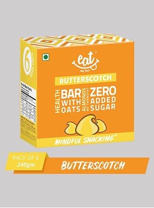 Picture of Eat Anytime Butterscotch Energy Bars 40 g Pack Of 6