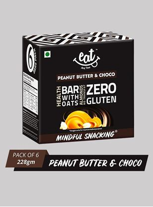 Picture of Eat Anytime Chocolate Peanut Butter Energy Bars 38 g Pack Of 6