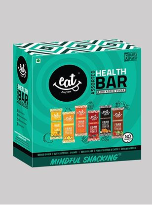 Picture of Eat Anytime Snack Bars & Breakfast Granola Bars Variety Pack - Pack Of 6