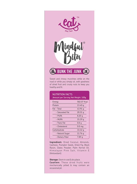 Picture of Eat Anytime Mindful Bites Healthy Trial Mix, Fig & Raisin 200 g