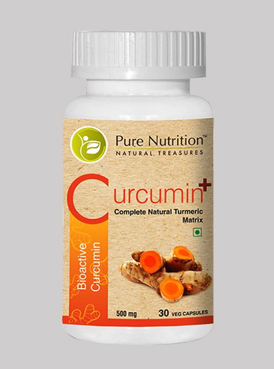 Picture of Pure Nutrition Curcumin Plus Bioactive Curcumin 30 Capsule