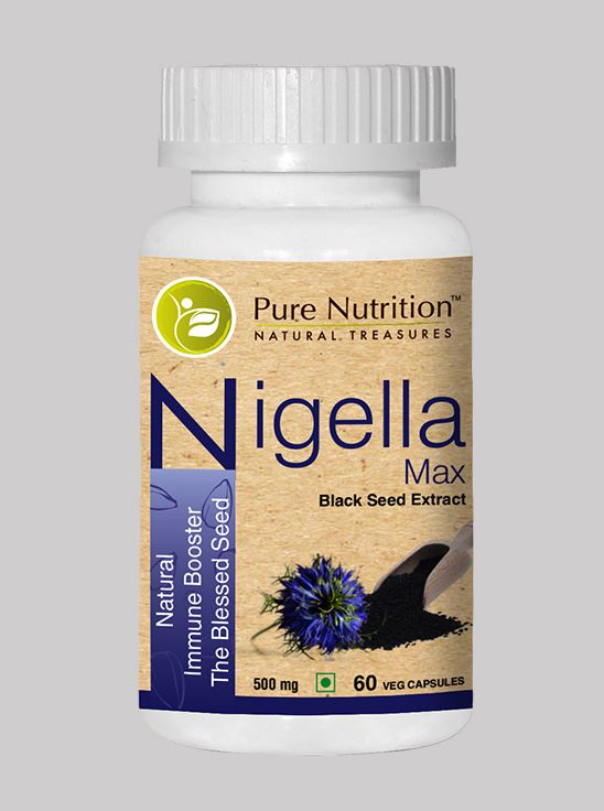 Picture of Pure Nutrition Nigella Max Natural Immune  Booster The Blessed Seed 60 Caps