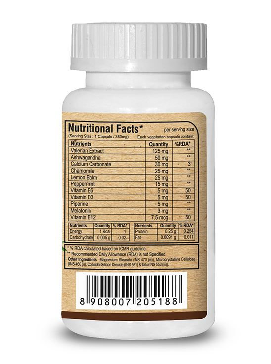 Picture of Pure Nutrition Stress Nil Higher Adaptogen Actives 60 Caps