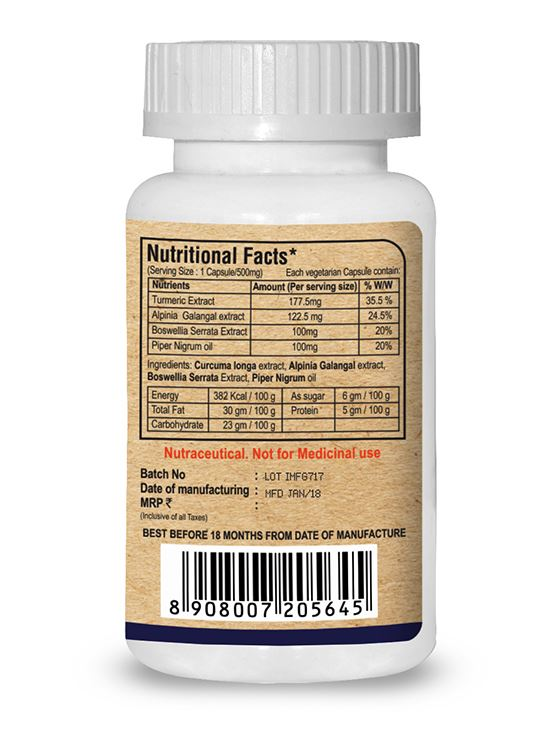 Picture of Pure Nutrition Endojoint Provides  Natural Nutrition for Joints Health 30 Caps