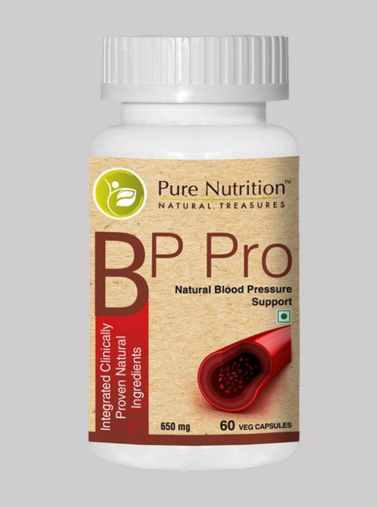 Picture of Pure Nutrition BP Pro Management Integrated Clinically Proven Natural Ingredients 60 Caps