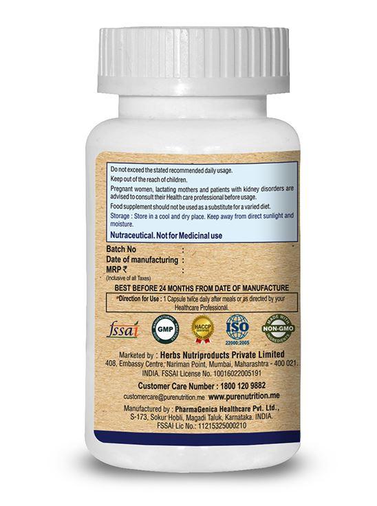 Picture of Pure Nutrition Immune  Pro Unique & Powerful Immune 60 Caps