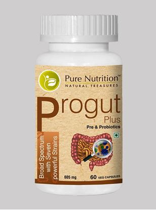 Picture of Pure Nutrition Progut  Plus Broad Spectrum with Seven Powerful Strains  60 Caps