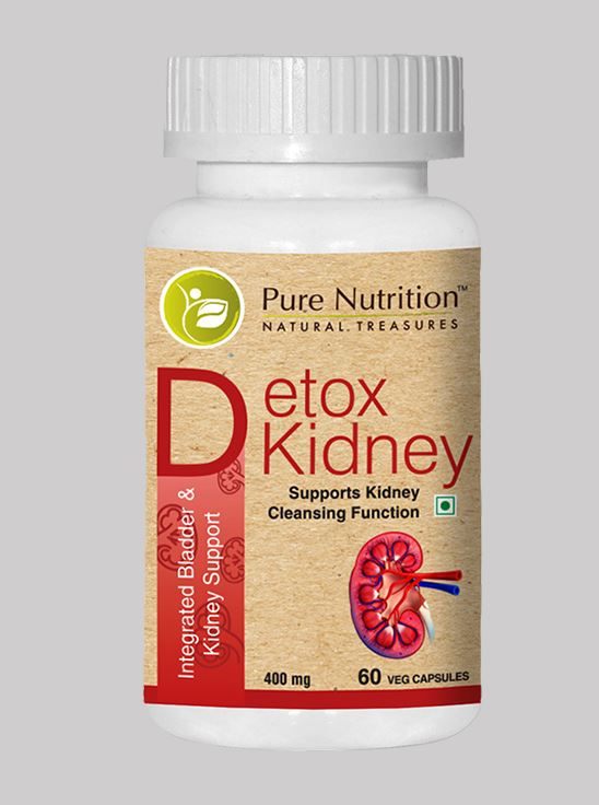 Picture of Pure Nutrition Detox Kidney Integrated Bladder and kidney support 60 Caps