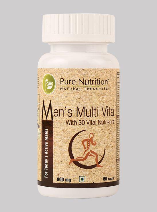 Picture of Pure Nutrition Men's Multivita 30 - 60 Tablets
