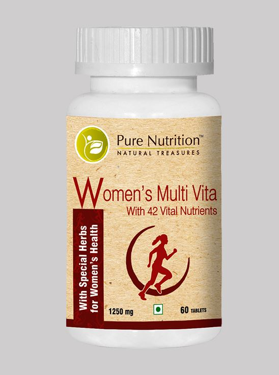 Picture of Pure Nutrition Women's Multivita 42 - 60 Tablets