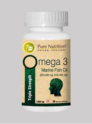 Picture of Pure Nutrition Omega 3 Triple Strength 60 Softgel Caps