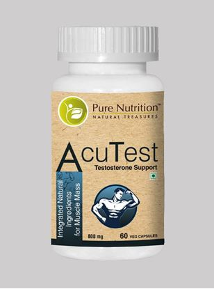 Picture of Pure Nutrition AcuTest Testosterone Support 60 Caps