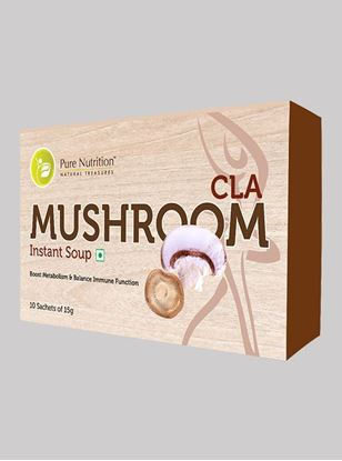 Picture of Pure Nutrition CLA Mushroom 10 Sachets of 15gms