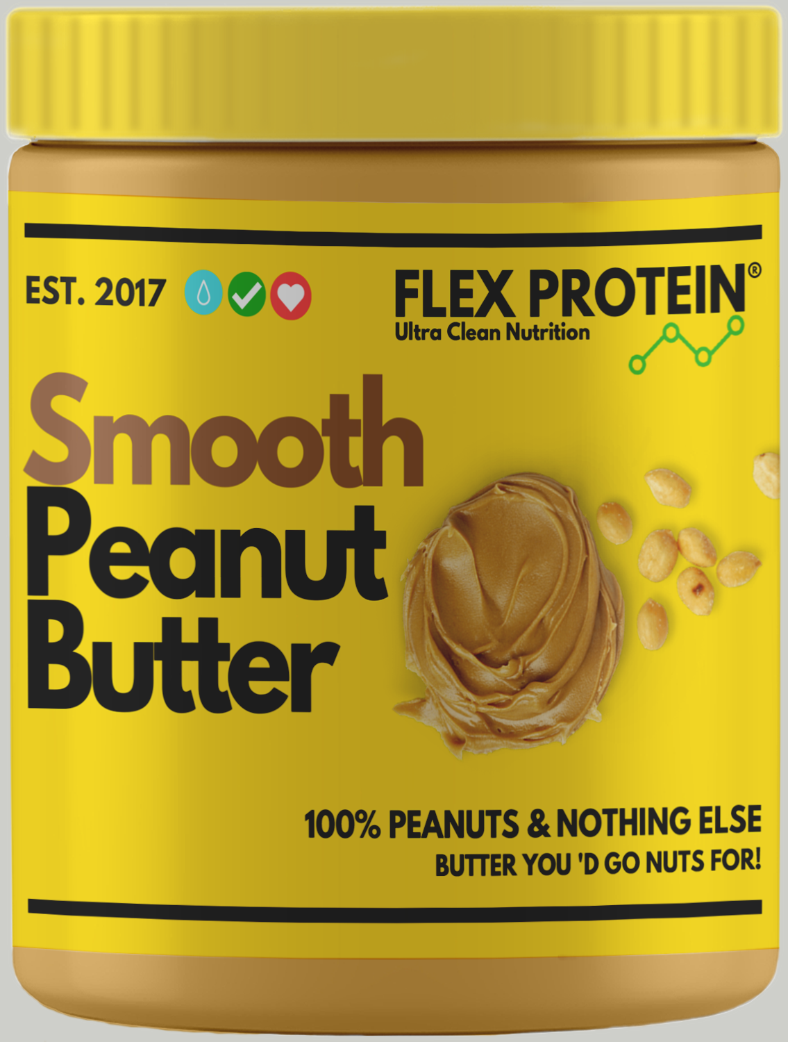 Smooth peanut butter