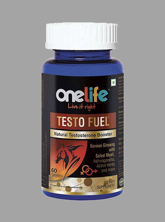 Picture of Onelife TESTO FUEL Natural Testosterone Booster 60 Tablets
