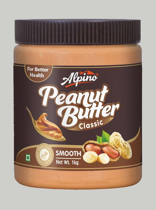 Picture of Alpino Classic Peanut Butter Smooth Gluten Free / Non-GMO 1kg