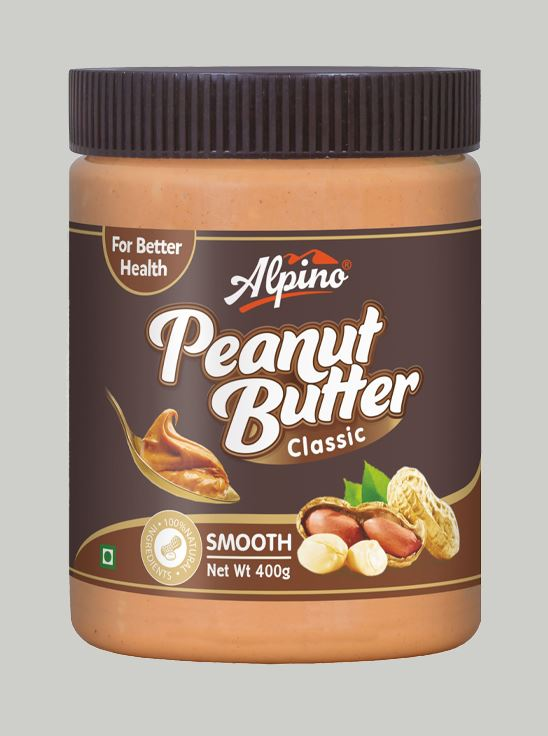 Picture of Alpino Classic Peanut Butter Smooth Gluten Free / Non-GMO 400g