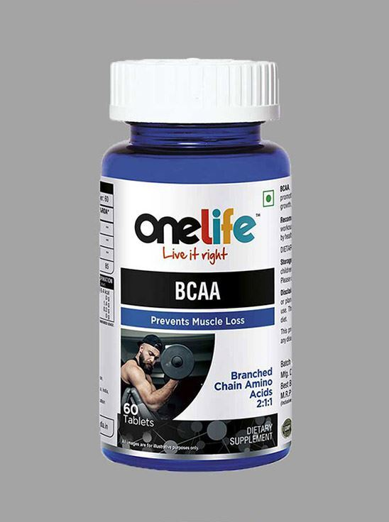 Picture of Onelife BCAA Branched Chain Amino Acid 60 Tablets
