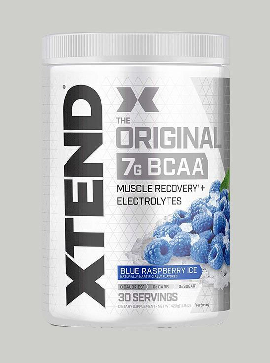 Picture of Scivation - Xtend BCAA Blue Raspberry 30 Servings
