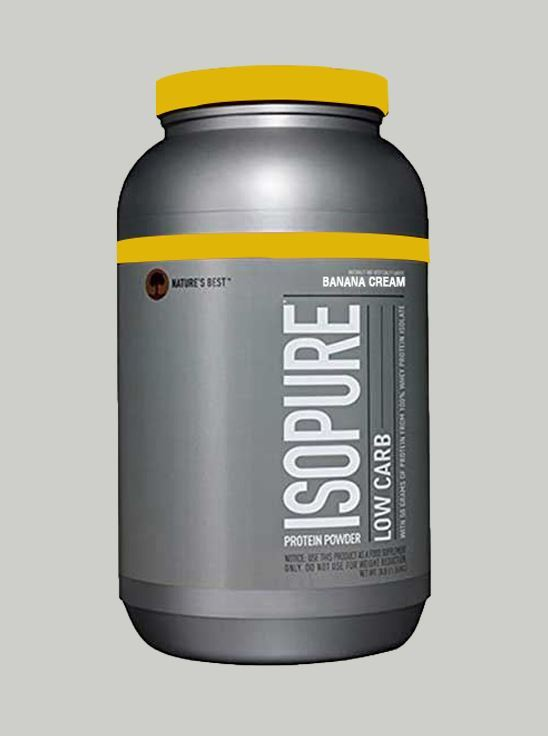 Picture of Isopure - Whey Protein Isolate Banana Cream 3 lbs