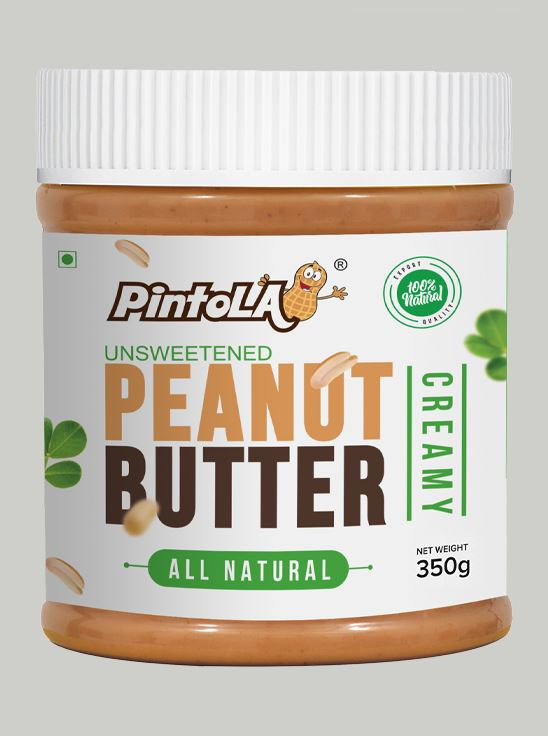Picture of Pintola All Natural Peanut Butter Creamy Unsweetened 350g