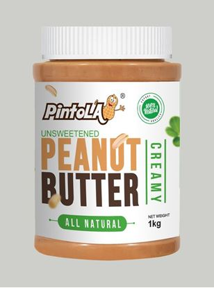 Picture of Pintola All Natural Peanut Butter Creamy Unsweetened 1kg